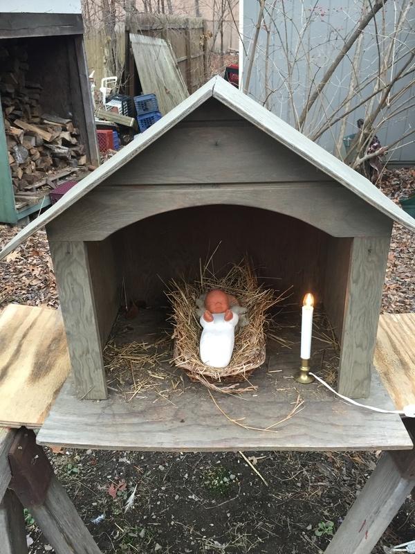 Monastic Creche - Baby Jesus